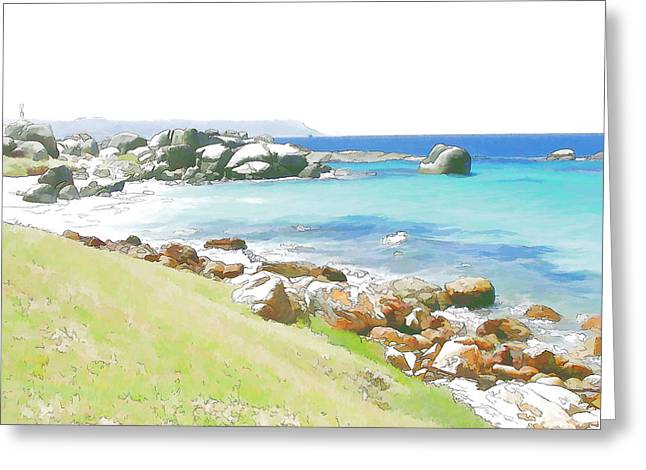 Miller's Point 2 Greeting Card by Jan Hattingh