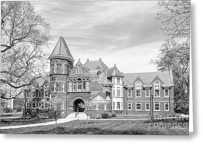 Millersville University Old Library Greeting Card by University Icons