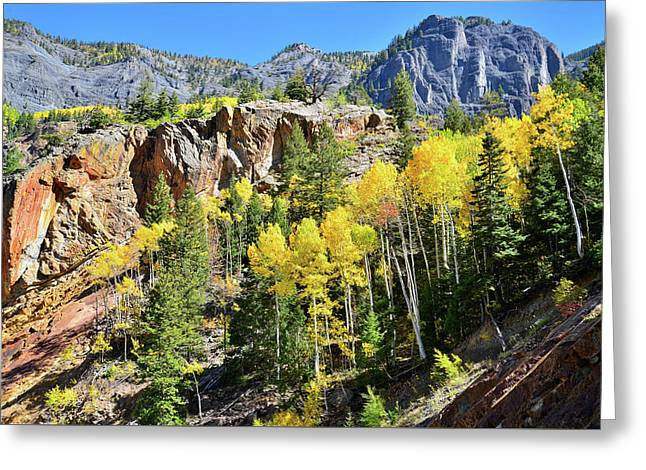 Greeting Card featuring the photograph Million Dollar Highway 550 by Ray Mathis