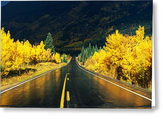 Million Dollar Highway Co Greeting Card by Panoramic Images