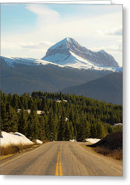 Million Dollar Views Greeting Card by Peter Irwindale