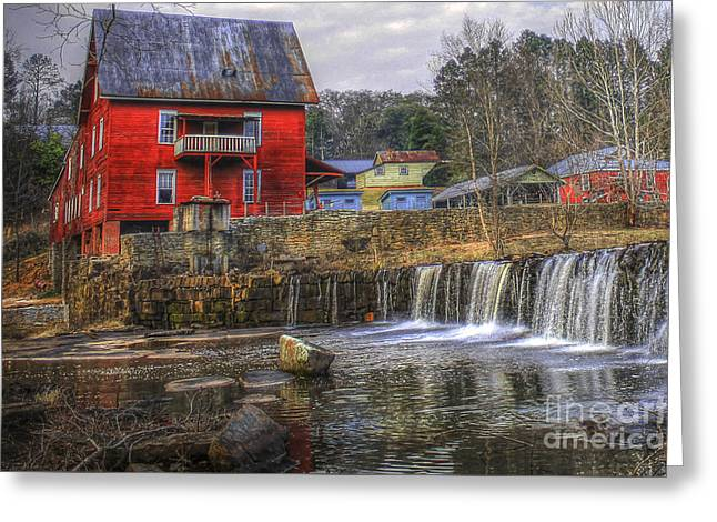Millmore Or Baxter Mill Gristmill Greeting Card by Reid Callaway