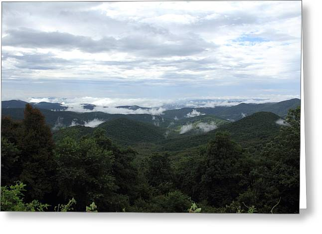 Mills River Valley View Greeting Card