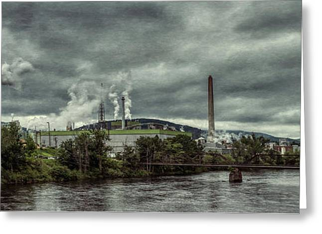 Greeting Card featuring the photograph Milltown by Guy Whiteley