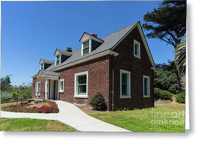 Millwright's Cottage At The Murphy Windmill San Francisco Golden Gate Park San Francisco Ca Dsc6346 Greeting Card