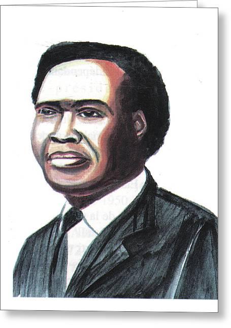 Milton Apolo Obote Greeting Card