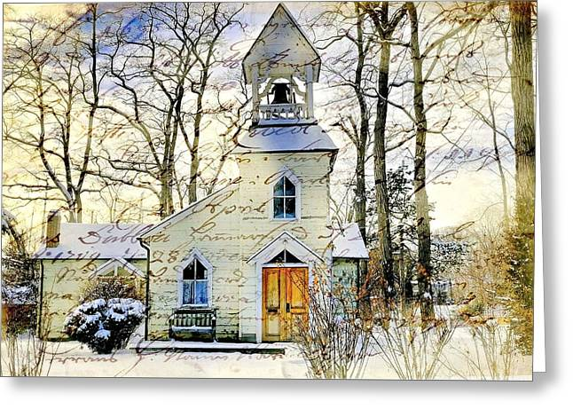 Milton Mission Chapel Greeting Card
