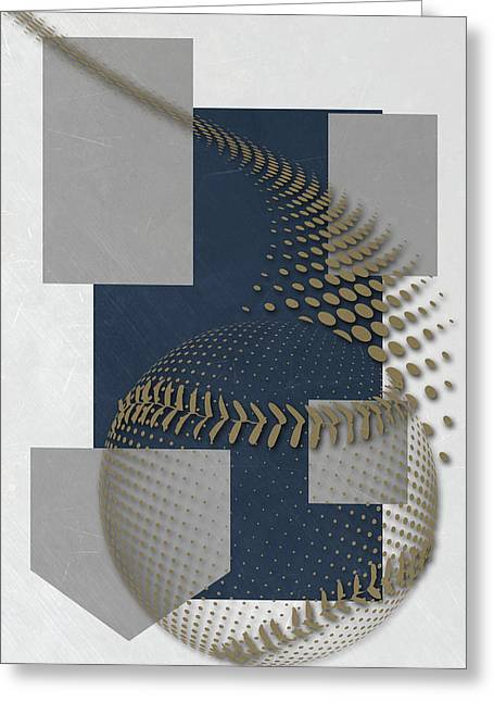 Milwaukee Brewers Art Greeting Card by Joe Hamilton