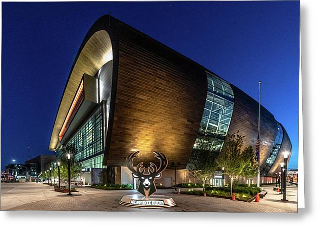 Milwaukee Bucks Greeting Card
