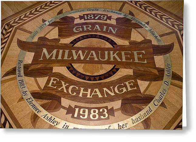 Milwaukee Grain Exchange Greeting Card by Peter Skiba