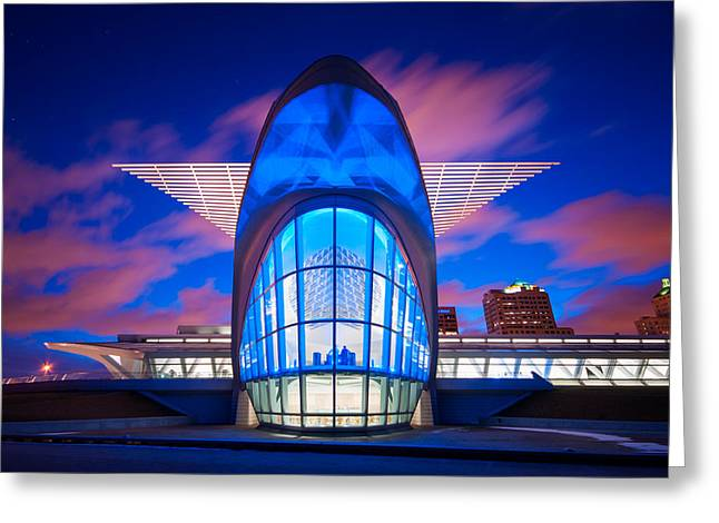 Milwaukee's Wings Greeting Card by Josh Eral