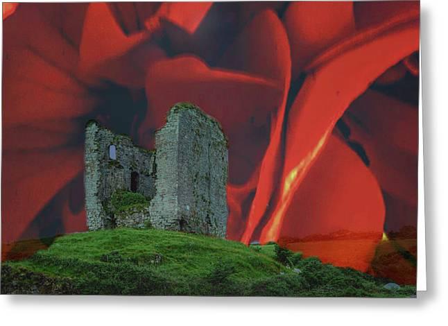 Minard Castle #d2 Greeting Card by Leif Sohlman