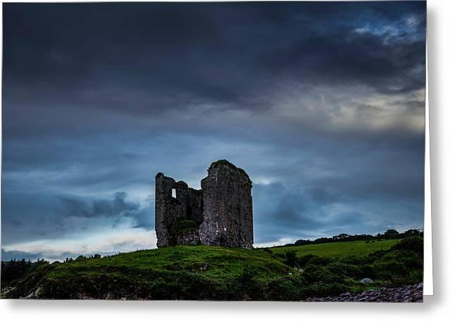 Minard Castle #g0 Greeting Card by Leif Sohlman