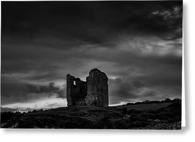 Minard Castle Bw #g0 Greeting Card by Leif Sohlman