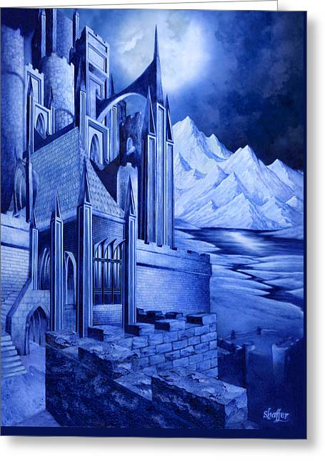 Minas Tirith Greeting Card by Curtiss Shaffer