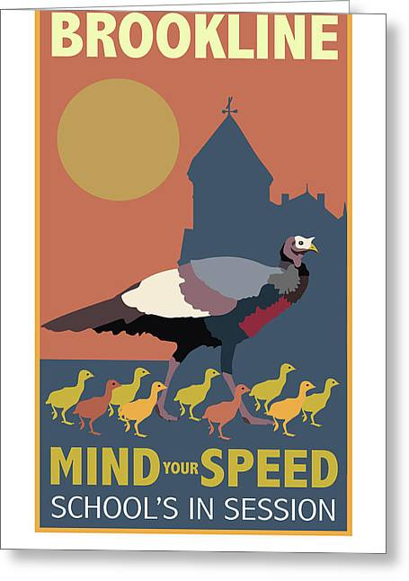 Mind Your Speed Greeting Card