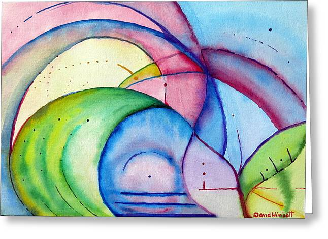 Mindfulness Greeting Card by David Wimsatt