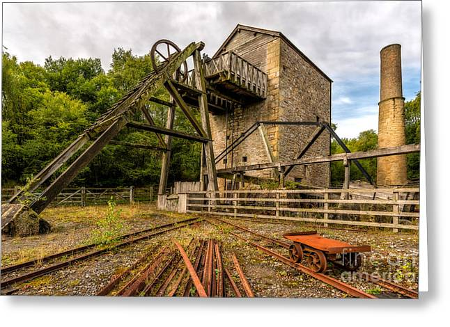 1296 Greeting Cards - Minera Mine Greeting Card by Adrian Evans