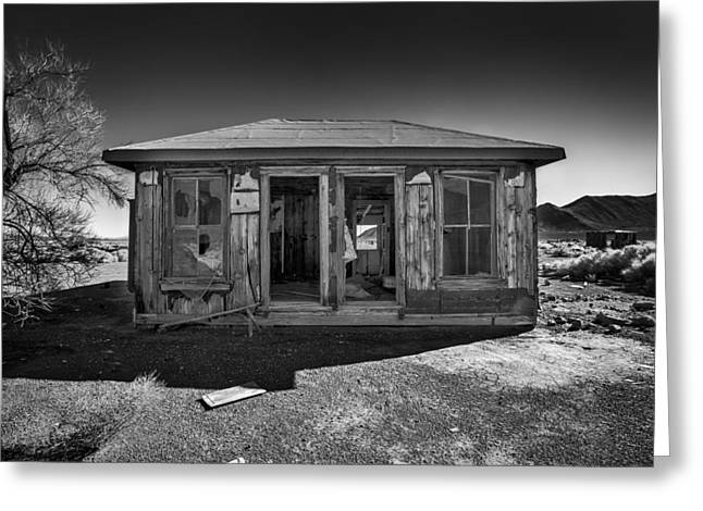 Miner's House Greeting Card by Peter Tellone