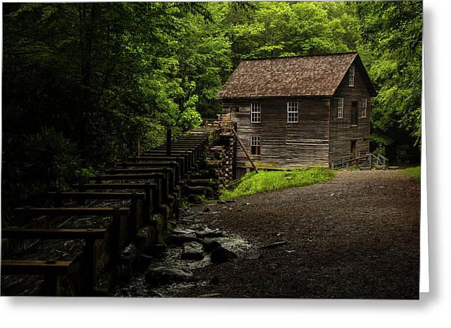 Mingus Mill Greeting Card by Chris Austin
