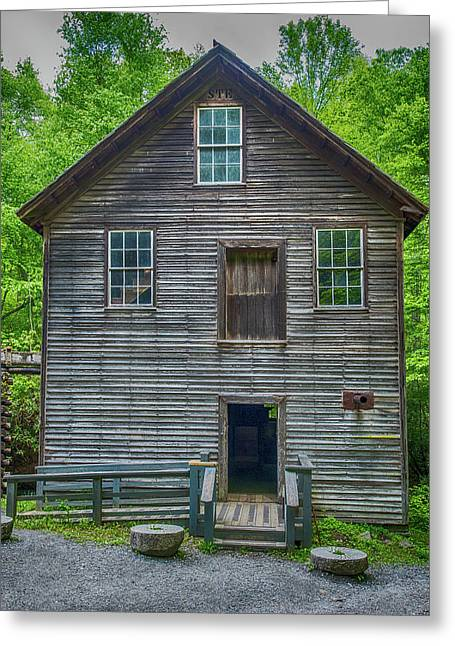 Mingus Mill Front View Greeting Card by Paul Freidlund