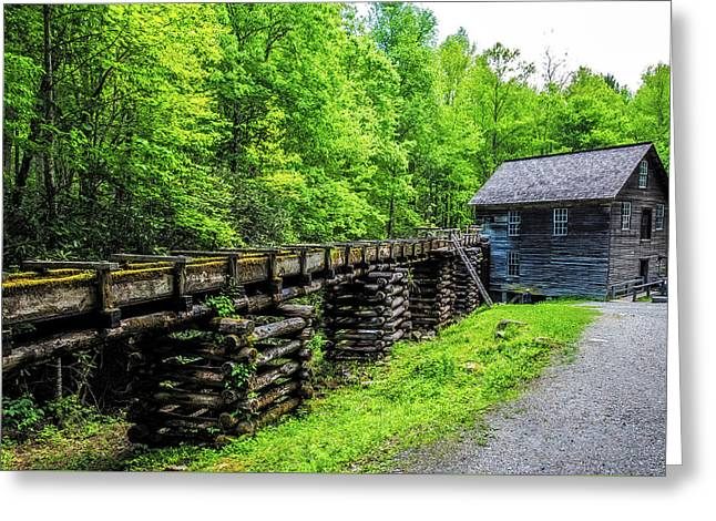 Mingus Mill Greeting Card by Paul Freidlund