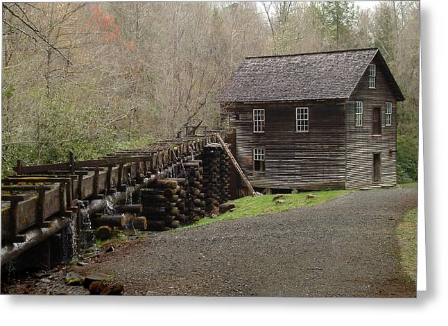 Mingus Mill Greeting Card by Robert Clayton