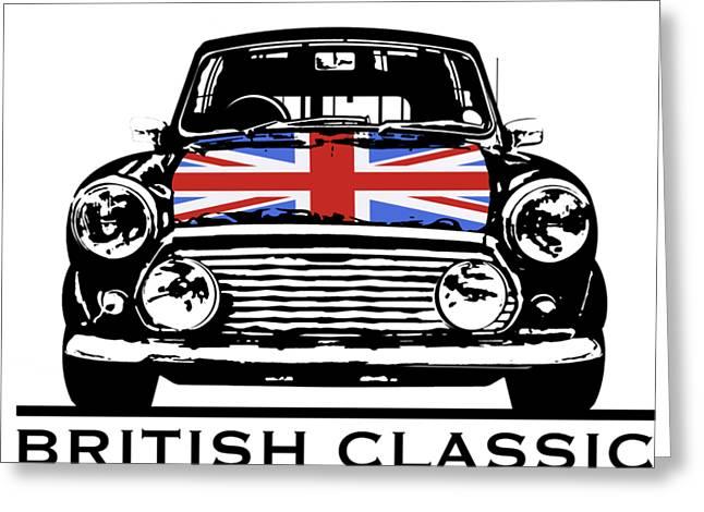 Mini British Classic Greeting Card