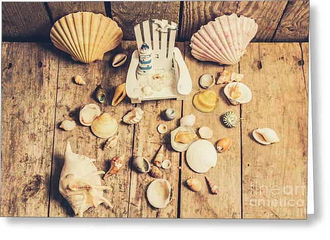 Miniature Sea Escape Greeting Card