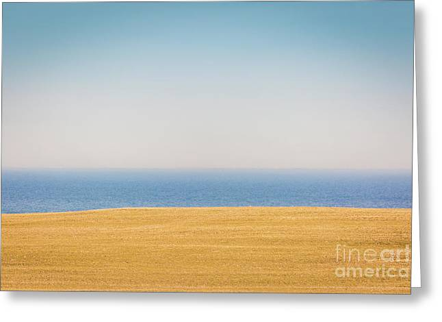 Minimal Lake Ontario Greeting Card