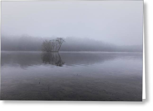 Minimal Reflection Greeting Card by Chris Fletcher