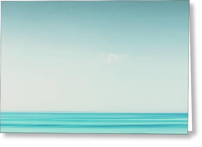 Minimal Wave Greeting Card