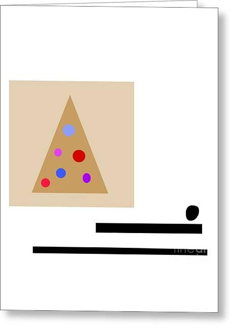 Minimalistic Christmas Greeting Card