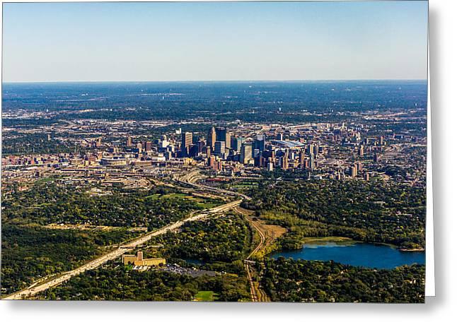 Minneapolis Minnesota No.1 Greeting Card by TL  Mair