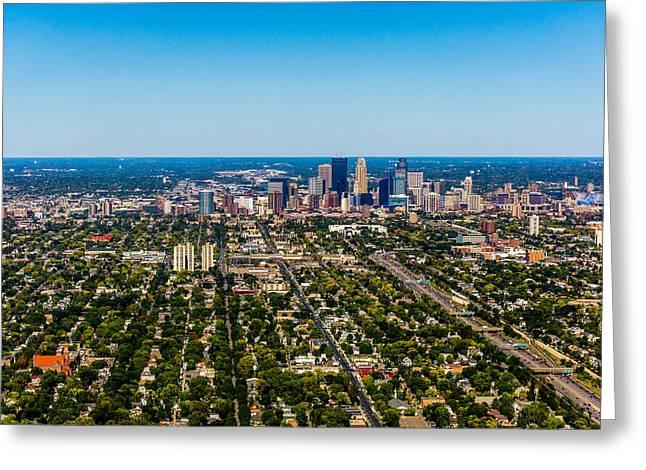 Minneapolis Minnesota No.2 Greeting Card by TL  Mair