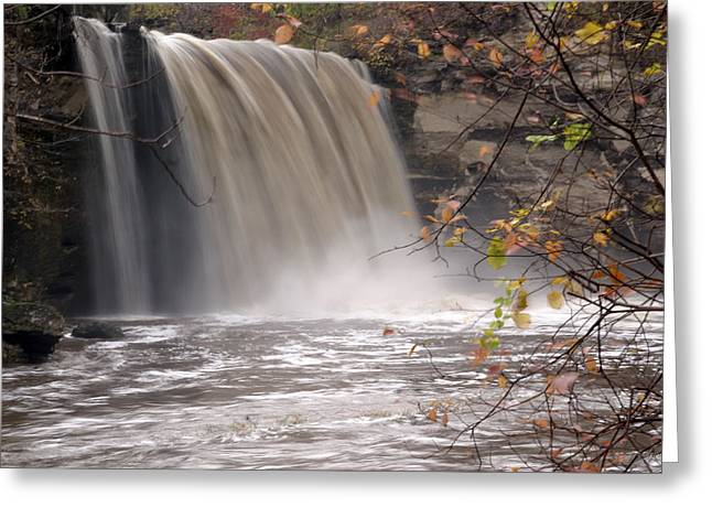 Minnehaha Falls  Mankato Minnesota Greeting Card