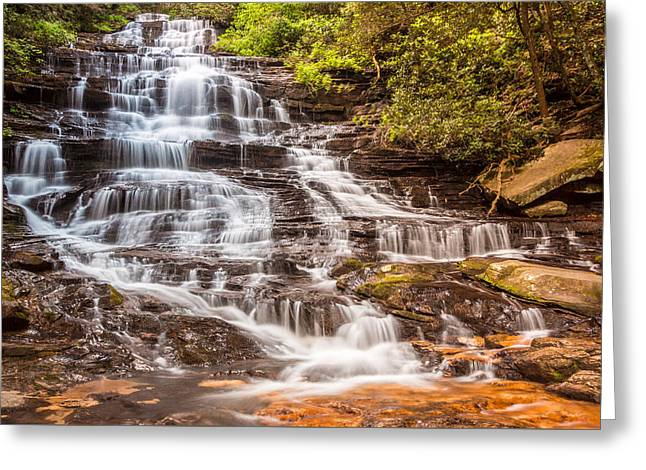 Minnehaha Falls Greeting Card by Sussman Imaging