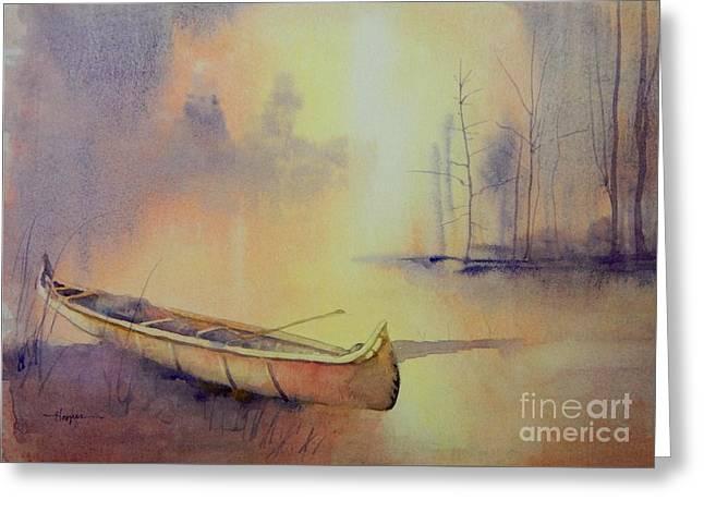 Minnehaha's Canoe Greeting Card