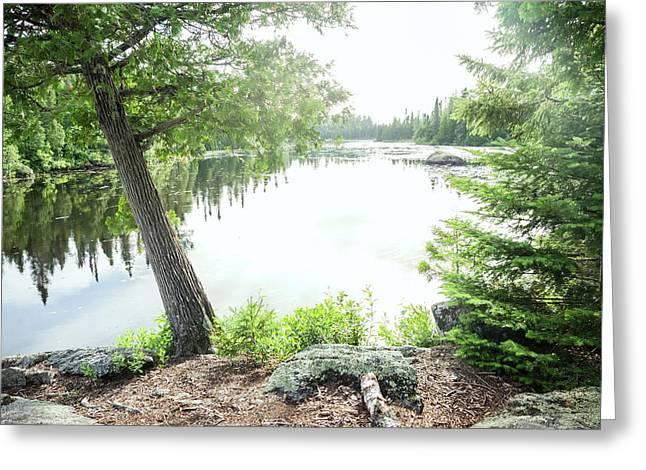 Minnesota Boundary Waters Greeting Card