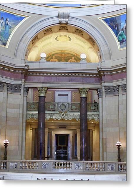 Minnesota House  Greeting Card