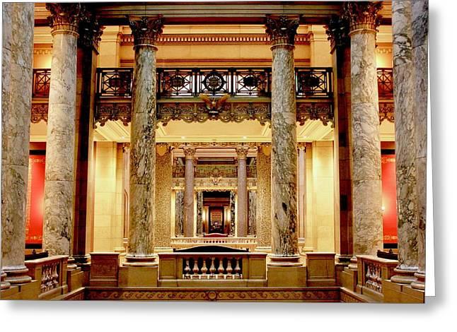 Minnesota Capitol Senate Greeting Card