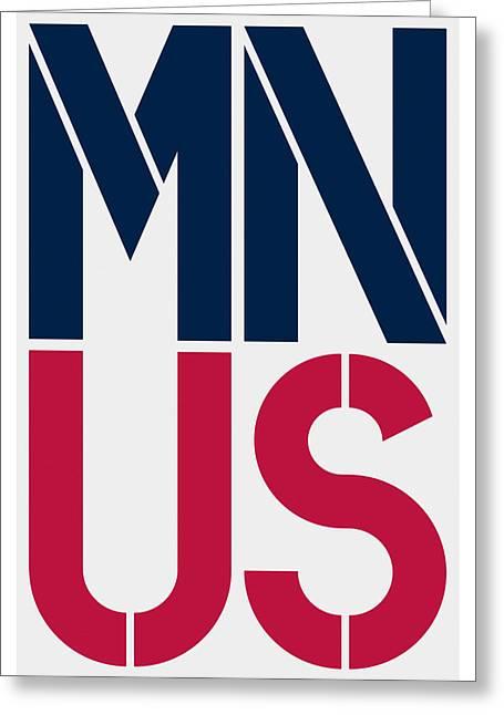Minnesota Greeting Card by Three Dots