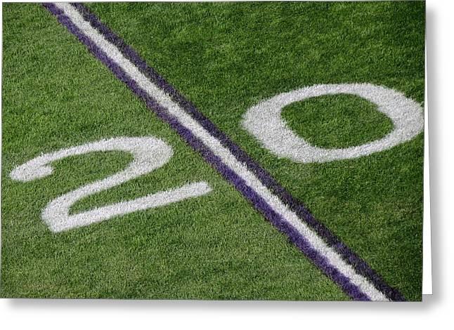 Minnesota Vikings 20 Yard Line Greeting Card