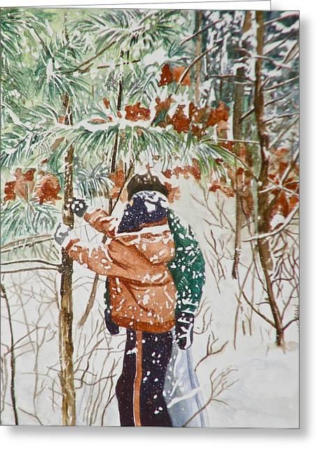 Minnesota Winter Greeting Card
