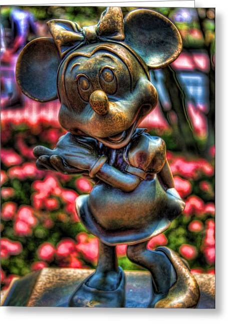 Minnie Greeting Card