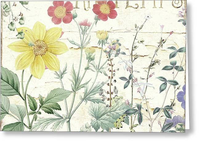 Mirabelle IIi Greeting Card by Mindy Sommers