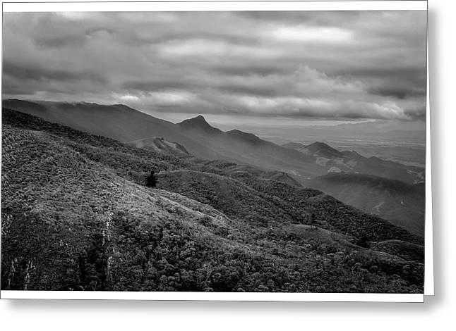 Mirante-pico Do Itapeva-campos Do Jordao-sp Greeting Card