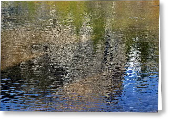 Mirror Lake Reflections 04 13 Greeting Card by Walter Fahmy