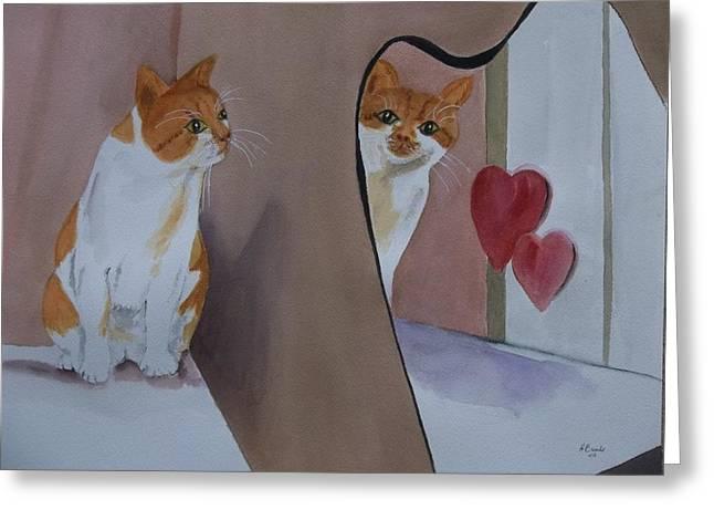 Mirror, Mirror Greeting Card