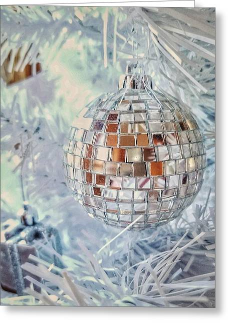 Mirror Tree Ornament Greeting Card